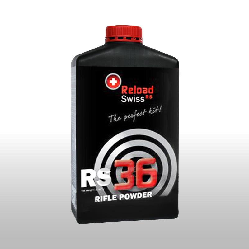 ReloadSwiss RS 36 Wiederlader Pulver