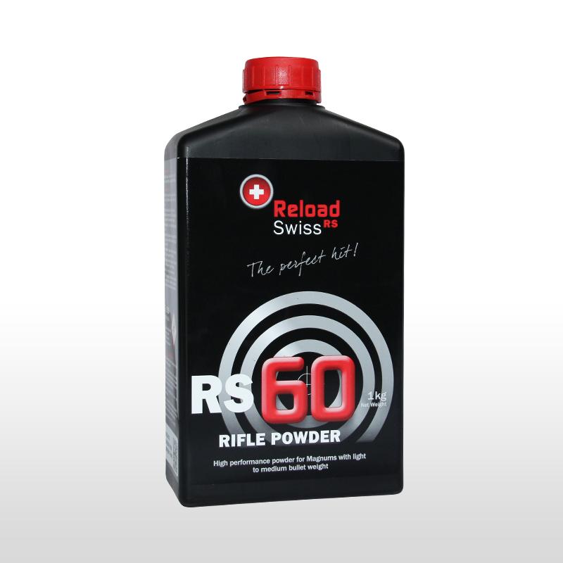 ReloadSwiss RS 60 Wiederlader Pulver