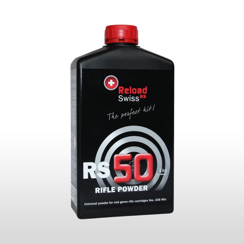ReloadSwiss RS 50 Wiederlader Pulver