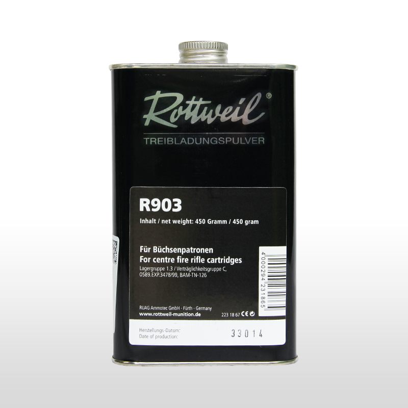 Rottweil R 903 Wiederlader Pulver
