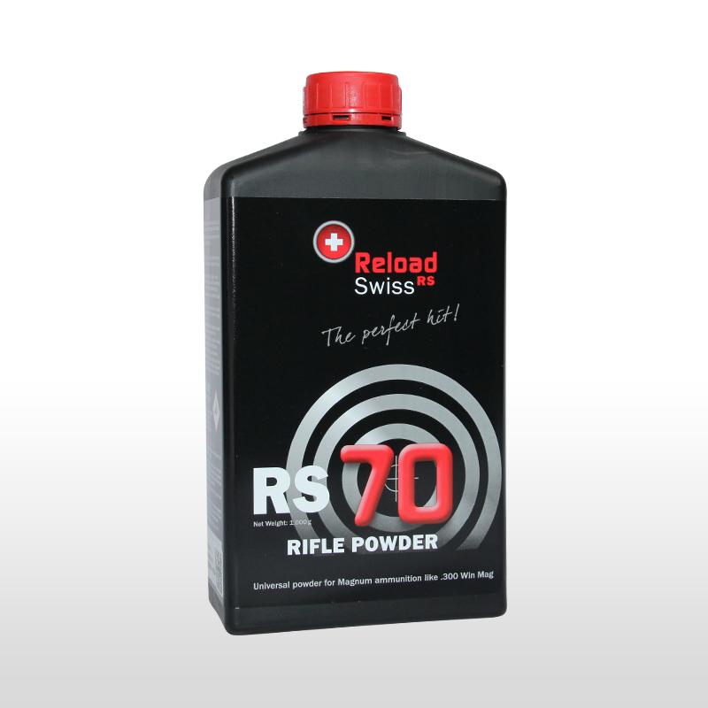 ReloadSwiss RS 70 Wiederlader Pulver