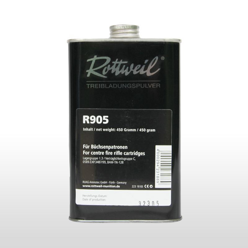 Rottweil R 905 Wiederlader Pulver